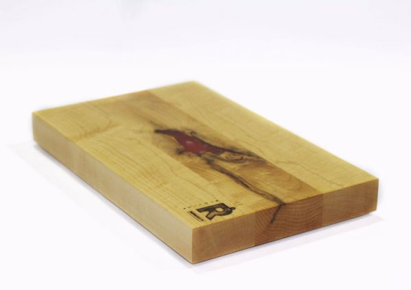 planche epoxy rouge blanche